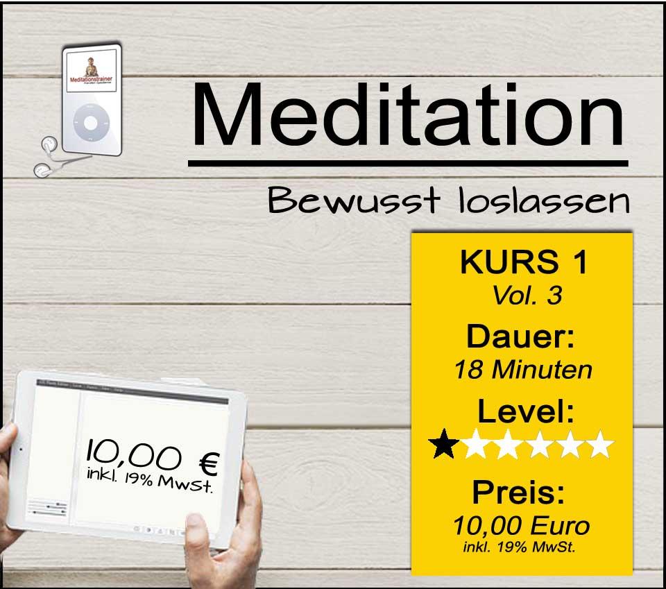 Geführte Meditation zum Loslassen