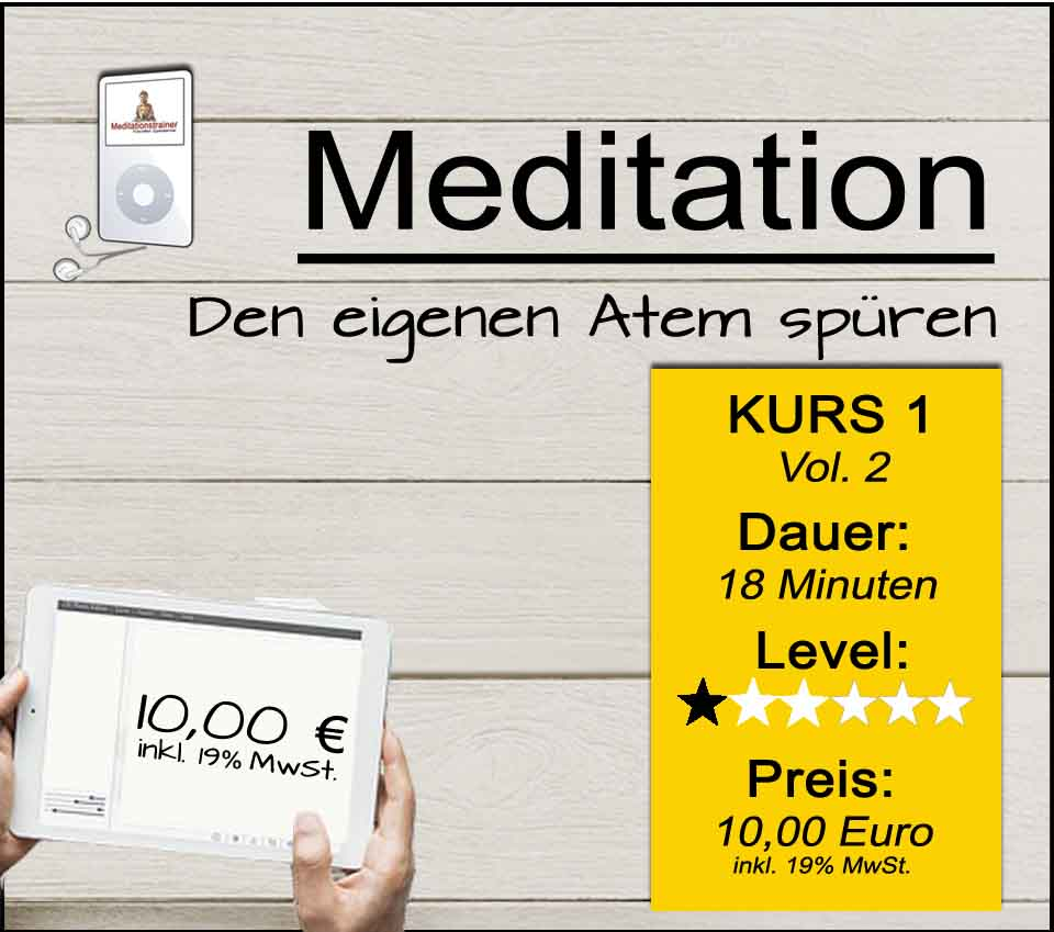 Angeleitete Atemmeditation